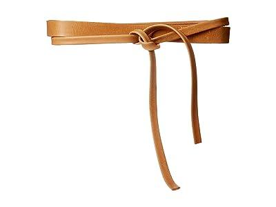 ADA Collection Skinny Wrap Belt (Tan) Women