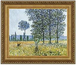 Design Toscano Sunlight Effect under the Poplars, 1887: Canvas Replica Painting: Grande