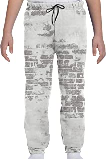 Yesbnow Pantalones de chándal para jóvenes Pantalones Deportivos para Correr o Loungewear, Pantalones de chándal de Pared ...