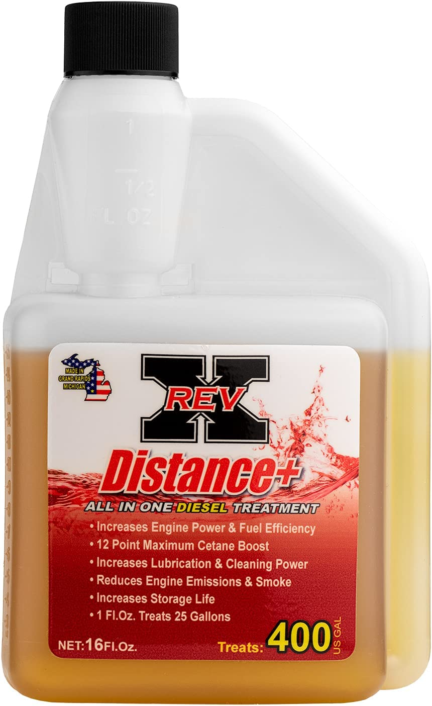 REV X Distance+ All In One fl. Diesel Treatment oz. Max 78% OFF 16 - Max 58% OFF