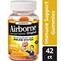 Airborne Assorted Fruit Flavored Gummies, 42 count - Vitamin C 1000mg - Immune Support Minerals & Herbs,  Antioxidants (Vitamin A, C & E), Gluten-Free