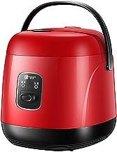 Nieuwe Mini Rijstkoker 1.2L Kleine Rijstkoker Kleine Keuken Apparaten (Rood)