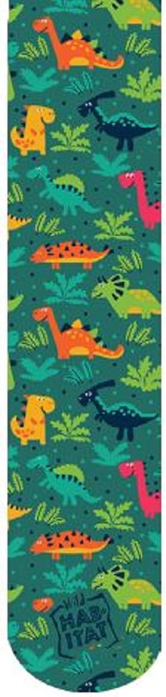 Wild Habitat Sublimation Kids Socks- Dinosaurs