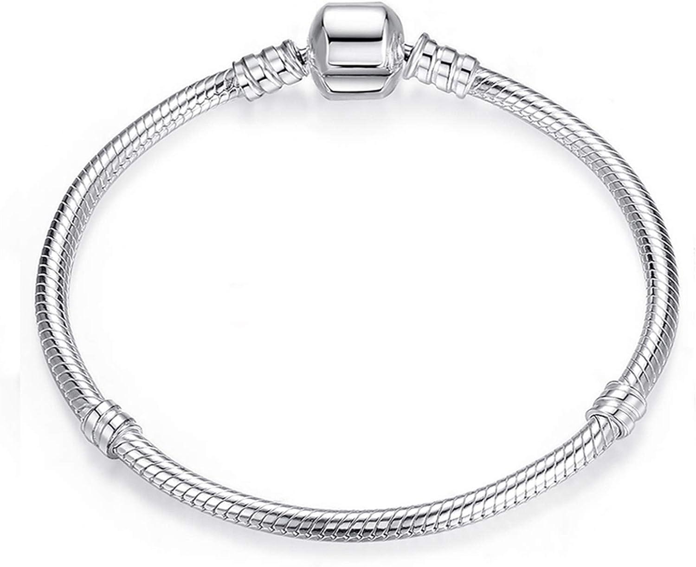JIEERCUN Charm Bracelet Sales of SALE items from new works Cute Mouse Chain Basic fine Snake Regular store Bracel