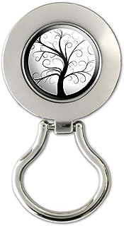 Tree of Life Magnetic Metal Eyeglass Badge Holder