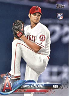 2018 Topps Baseball Series 2#700 Shohei Ohtani RC Rookie Los Angeles Angels Official MLB Trading Card