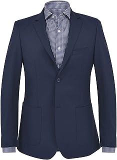 vidaXL Men's Jacket Navy Size Elegant Slim Fit Classic Jacket