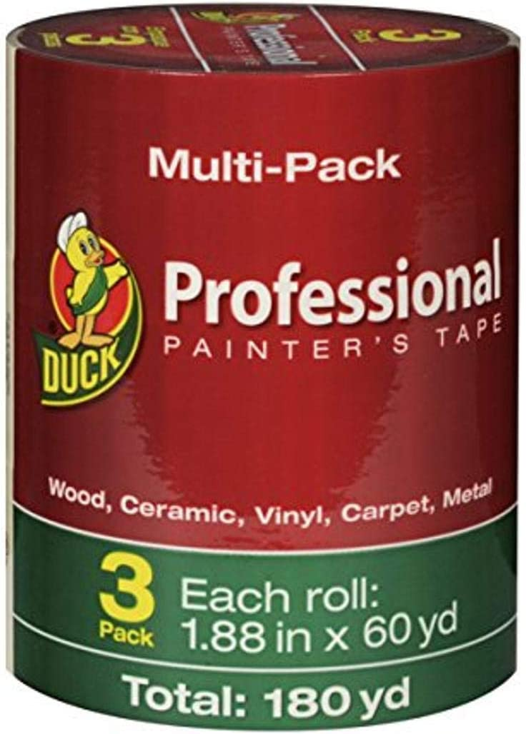 Duck Brand New product Professional Painter's Tape Beige Long Beach Mall 1.88 Inches x 60