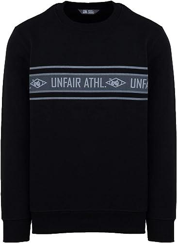 Unfair Athletics Men Sweatshirt Athl. Striped