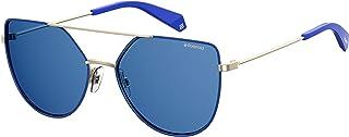 Polaroid Sunglasses For Women, Grey Lens, Pld6057/S, Square Frame