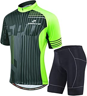 Cycling Jersey Short Sleeve Men MTB Bike Clothing Road...