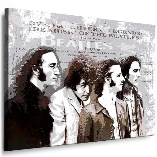 Bilder Kunstdrucke / Boikal / Bild mit Keilrahmen John Lennon - Beatles 100x70 cm xxl.288