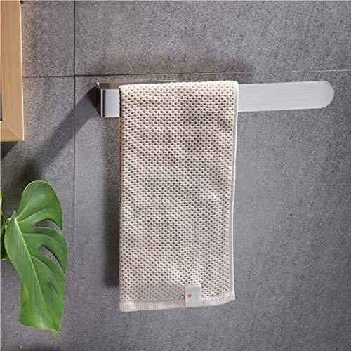 Handtuchhalter Ohne Bohren Bad Handtuchstange Edelstahl Gebürstet Handtuchring Selbstklebend 37cm