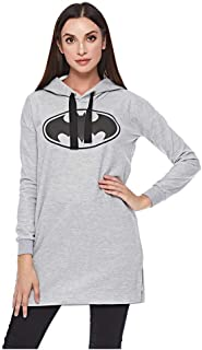 Splash Character Tunics Wgraphic Print Hoodies for Women