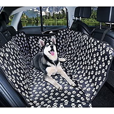 Oxford Pet Trunk Cargo Liner - Car SUV Van Seat Cover - Waterproof Floor Mat for Dogs Cats, Car Travel Accessories 100% Waterproof