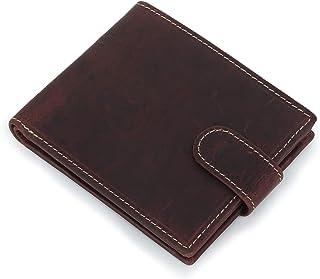 Zap Impex Genuine Leather men's wallet   Stylish leather wallet for men RFID (Dark Brown)