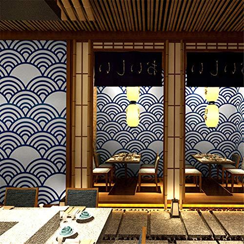 AYMAYO Japonesa Decoración Papel Pintado Estilo Japonés Personalidad Japonesa Ukiyo-e Papel Pintado