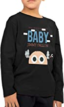 YOIEHFKSD This is Baby Jimmy Fallon Children's Long Sleeve T
