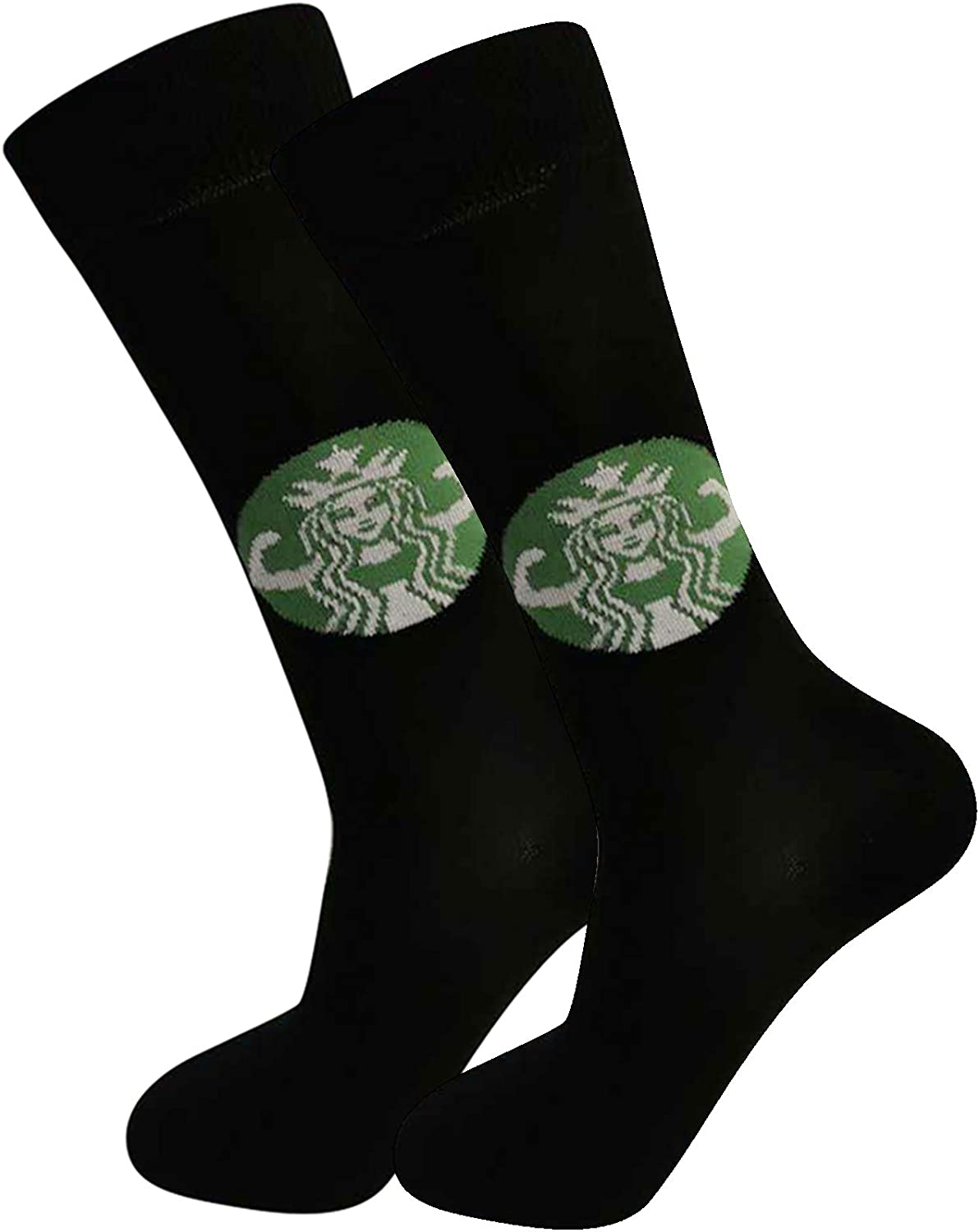 Prime Creations STARBUFF Meme Funny Socks | Cute Socks for Women or Men - Coffee Lovers | Stretchy, Breathable Cotton