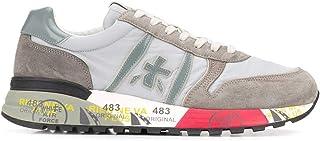 Luxury Fashion | Premiata Men LANDER4561 Grey Leather Sneakers | Spring-summer 20