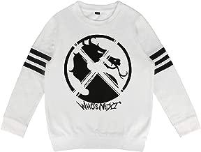 Kids Mortal-Kombat-Scorpion- Sweatshirt Long Sleeve Costume for Boys Or Girls