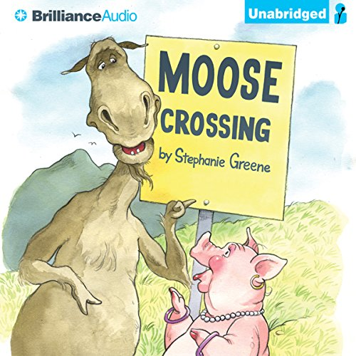Moose Crossing audiobook cover art