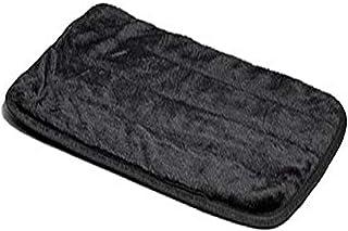 """Midwest Quiet Time Pet Bed Deluxe Black Fur Pet Mat 43"""" x 28"""""""
