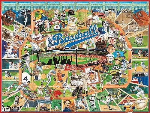 Jigsaw Puzzle 1000 Pieces 24 X30 -Baseball