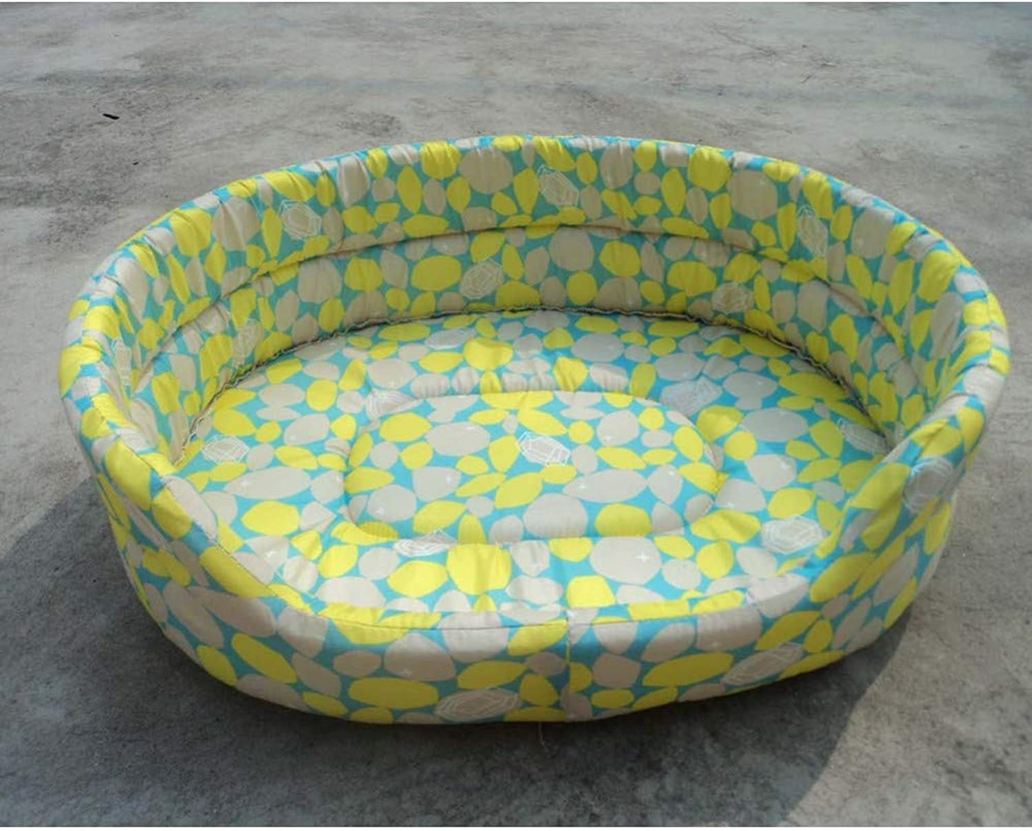 CZHCFF Fashion print five sizes pet kennel comfort bed breathable pet dog bed