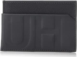 Men's Hero Hugo Logo Leather Card Case