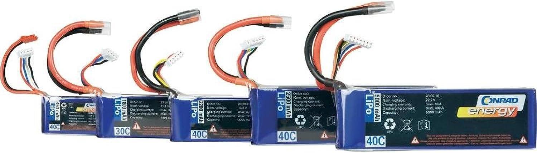 gran descuento Conrad energy batería de polímero de litio 7.4 V V V 2200 mAh (40 C) XH, 238964  precios mas bajos