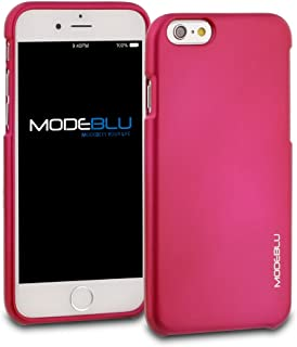 iPhone 6s Case, ModeBlu [M-Gel Case Series] [Hot Pink] Protective Metallic Case Bumper Slim Fit Shock Absorbent Cover [Drop Protection] for Apple iPhone 6s & 6, 4.7 inch