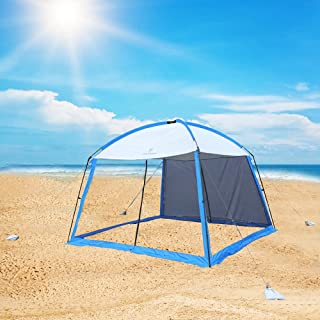 CMYYANGLIN Beach Tent Camping Shelter with Two...