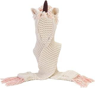 MISS FANTASY Unicorn Hat Winter Hood Scarf Beanies for Girls Unicorn Gifts