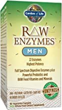 Garden of Life Raw Enzymes Men 90 Ultrazorbe Vegetarian Capsules 1 Units Estimated Price : £ 45,35
