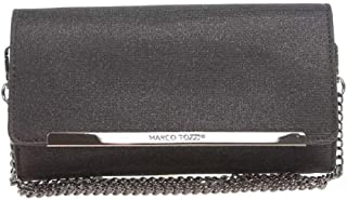 MARCO TOZZI Damen 61001 Clutch, 22x14x4 cm - schwarz