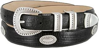 Black Mesa Italian Calfskin Leather Dress Concho Belt