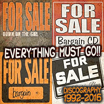 Everything Must Go!! 1992-2016