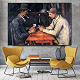 Leinwand Poster Und Drucke Wandkunst Kartenspieler Paul