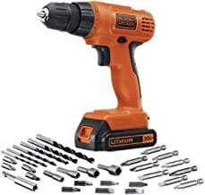 Black & Decker 20V MAX Lithium Drill/Driver with 30 Accessories - Taladro eléctrico