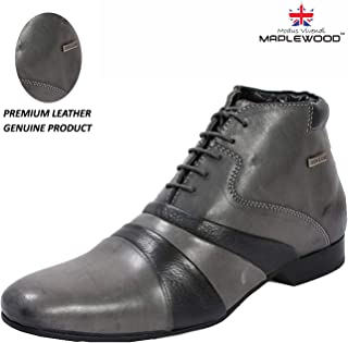 Maplewood Genuine Leather Duke Shoes For Men