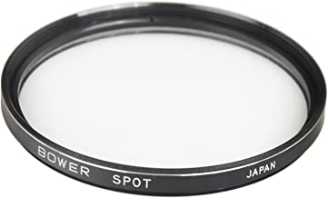 Bower FT58S 58mm Professional Spot Lens Filters for Canon, Nikon, Sony, Olympus, Panasonic, Pentax and DSLR Cameras