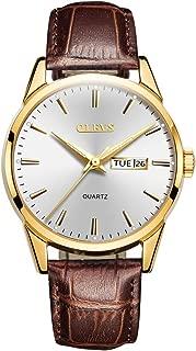 Watches for Men Waterproof Leather Strap Classic Male Wrist Watch Men's Watch