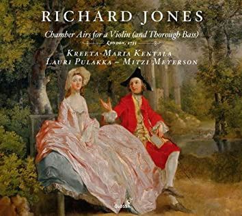 Jones: Chamber Airs for a Violin (and Thorough Bass)