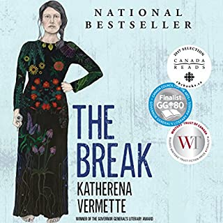 The Break                   Written by:                                                                                                                                 Katherena Vermette                               Narrated by:                                                                                                                                 Michaela Washburn                      Length: 11 hrs and 21 mins     95 ratings     Overall 4.6
