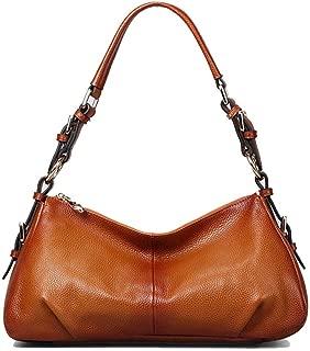 Kattee Ladies' Vintage Leather Hobo Shoulder Handbag