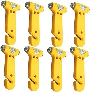 KAFEEK® Seatbelt Cutter Window Breaker Escape Tool, Pack of 8