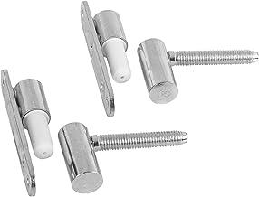 Gedotec deurscharnierkamer deurrenovatie scharnieren metaal verzinkt | deurscharnieren vast te schroeven - boor in | MADE ...
