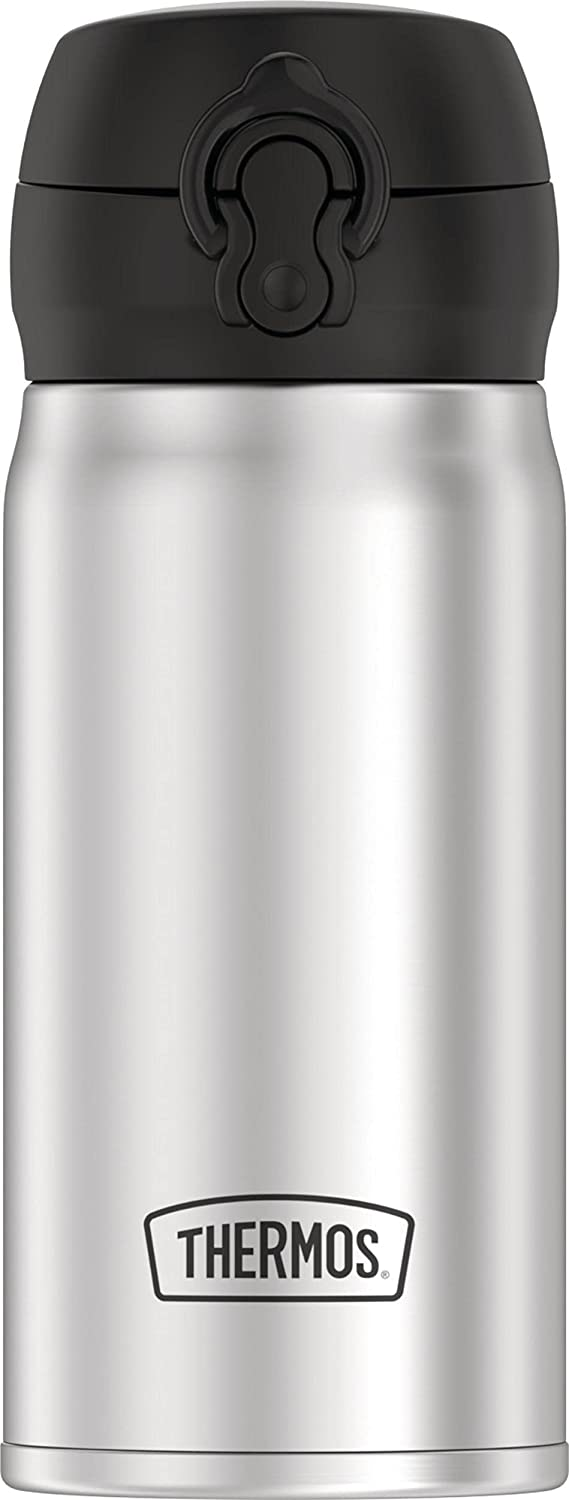 THERMOS 12oz Stainless Steel Direct Drink Bottle, Stainless