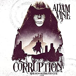 Corruption audiobook cover art